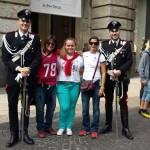 Carabinieri con las chicas