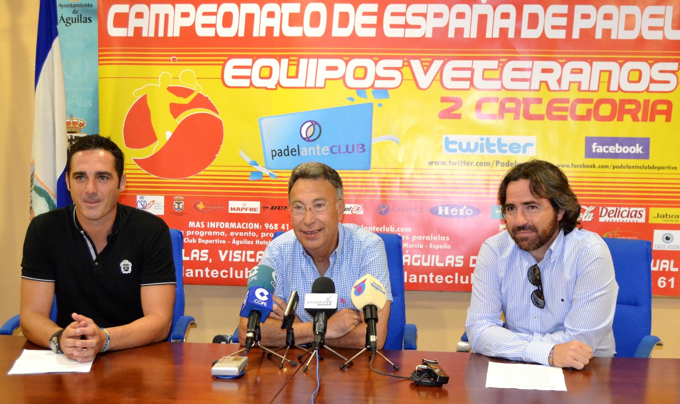 Presentacion Campeonato Espana Padel