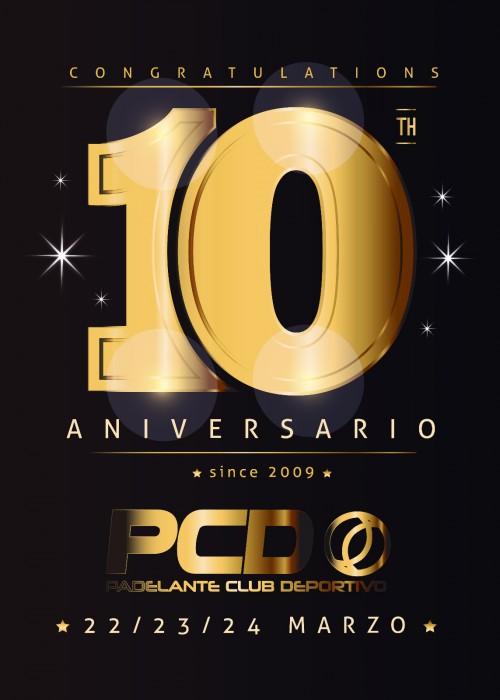 10 Aniversario Cartel Lanzamiento